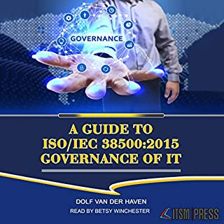 Couverture de A Guide to ISO/IEC 38500:2015 Governance of IT