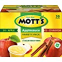 36-Count Mott's Apple & Cinnamon Variety Pack Applesauce
