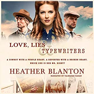 Love, Lies, & Typewriters                   By:                                                                                                                                 Heather Blanton                               Narrated by:                                                                                                                                 Talmadge Ragan                      Length: 4 hrs and 30 mins     Not rated yet     Overall 0.0