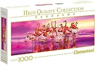 Clementoni 39427 Clementoni-39427 Collection Panorama-Flamingo Dance-1000 Pieces, Multi-Colour