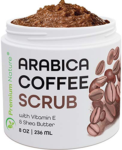 Arabica Coffee Exfoliating Body Face Scrub