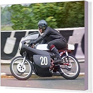 20x16 Canvas Print of Bob Ware (Yamaha) 1971 Ultra Lightweight TT (20588384)