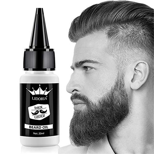 Beard Oil, Beard Growth Oil, Beard Oils For Men, Beard Essential Oil, moisturizes, soothes, stimulates the growth and shine, for the care of Beard Long and Short, 20 ml