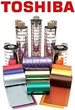 Toshiba TEC SW1 cinta para impresora - Cinta de impresoras matriciales (B-FV4, Transferencia térmica, Negro, 11 cm, 300 m)