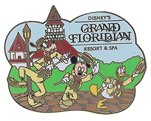 Disney Grand Floridian Resort & Spa (Mickey, Goofy & Donald) Pin