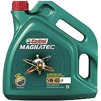 Castrol 15C9CA Aceite para Motor MAGNATEC C3 5W40 4 litros