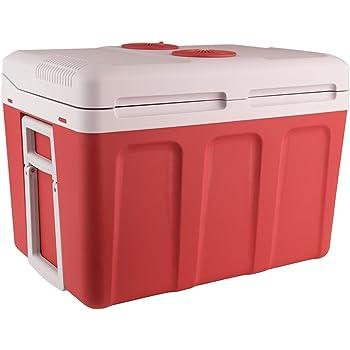 26L MOBIFRIDGE 12V//230V ELECTRIC CAR MINI TRAVEL BOX HOT COLD FOOD DRINK STORAGE