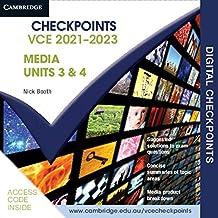 Cambridge Checkpoints VCE Media Units 3&4 2021–2023 Digital Card