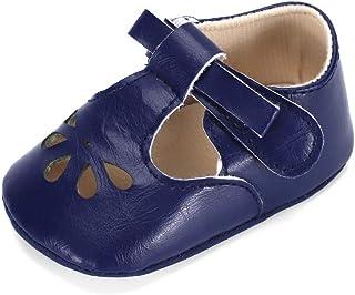 Ortego Chaussures Bébé Fille Chaussure Premier Pas Mode Plat Confortable Antidérapants