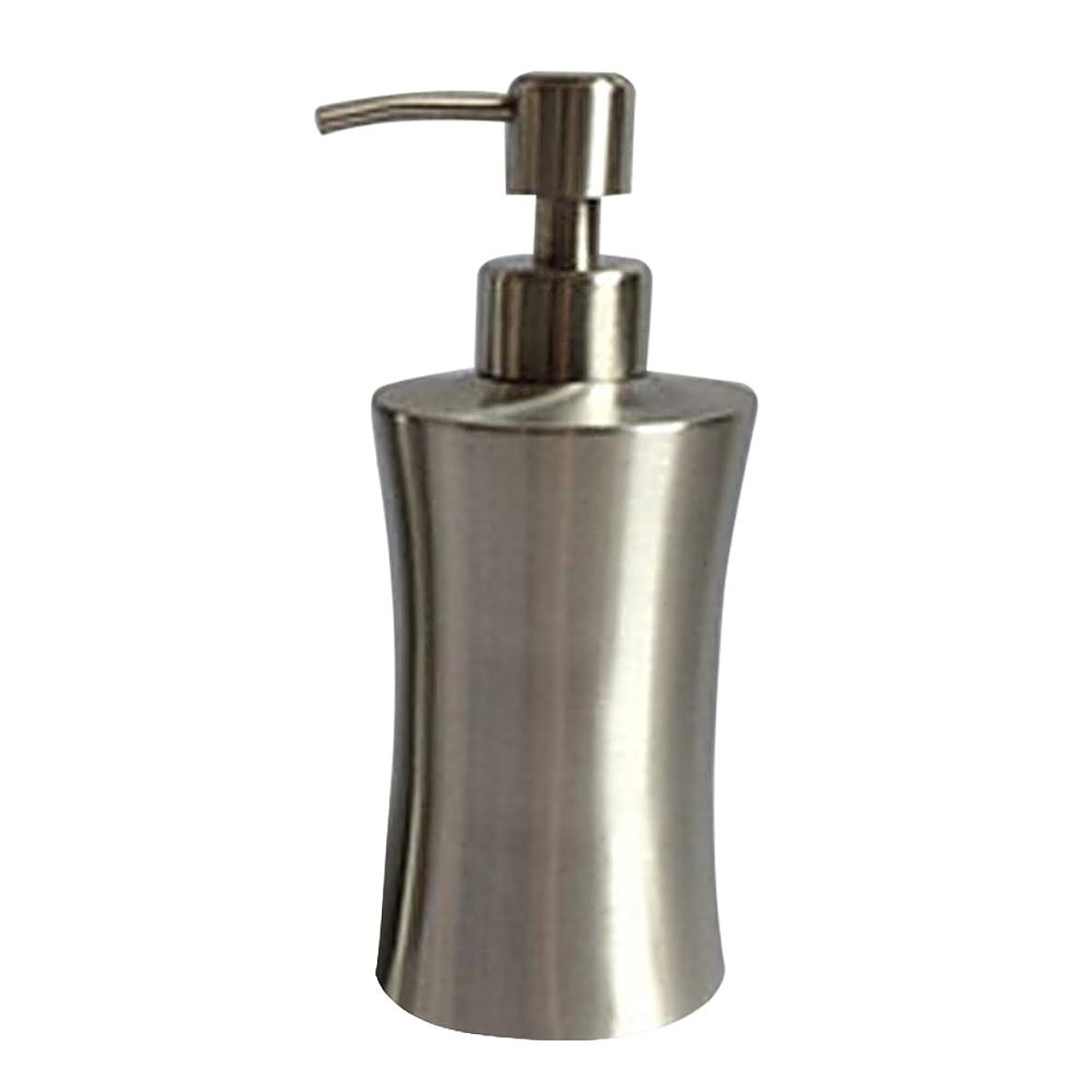 架空の特性シールドディスペンサー ステンレス ボトル 容器 ソープ 石鹸 シャンプー 手洗いボトル 耐久性 錆びない 220ml/250ml/400ml (C:400ml)