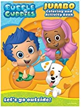 Nickelodeon Bubble Guppies Educational Coloring and Activity Book ~ Let's Go Outside! (64 Pages; 7.75
