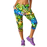 Zumba Capri Pantalon Harem de Entrenamiento Fitness Mallas d