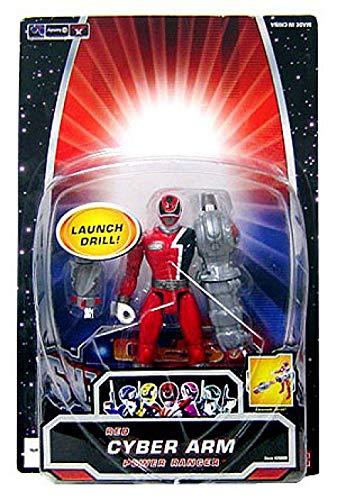 Power Rangers SPD Cyber Arm Action Figure Red Ranger