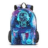 Dracarys Anime Galaxy Mochila Luminosa - Mochila Escolar con Puerto de Carga USB - Daypack Ambulante Bolso de Escuela de...