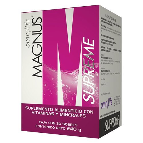 Omnilife Magnus Supreme Energy Drink Vitamins, Minerals and Amino acids