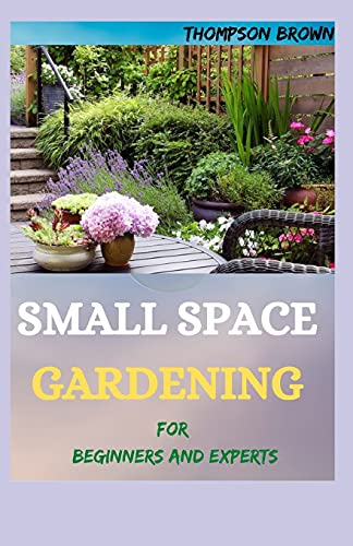 SMALL SPACE GARDENING For Beginners And Experts: Transfigure Your Porch, or Patio with Fruits, Flowers, Foliage, and Herbs