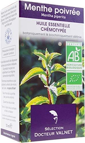 Menthe Poivrée Huile Essentielle Bio - 10 ml - Docteur Valnet