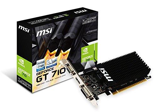 MSI GeForce GT710 GDDR3 1GB グラフィックスボード VD5932