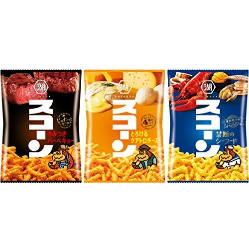 湖池屋(コイケヤ) スコーン 3種各4袋セット(計12袋)