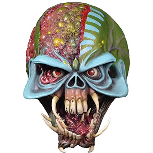 Trick Or Treat Studios Iron Maiden Final Frontier Eddie Adult Latex Costume Mask