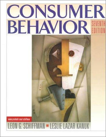 Consumer Behavior (7th Edition)