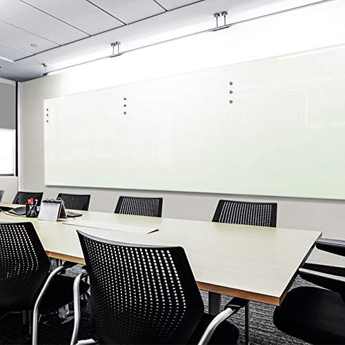Premium Glas-Magnettafel beschreibbar   TÜV-geprüft   Whiteboard rahmenlos mit Schwebe-Effekt   Pinnwand magnetisch aus Sicherheitsglas   7 Größen (60 x 90 cm) - 6