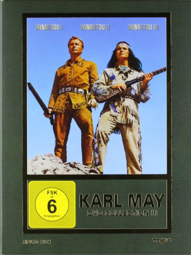 Karl May DVD-Collection 3 (Winnetou I / Winnetou II / Winnetou III) (3 DVDs)