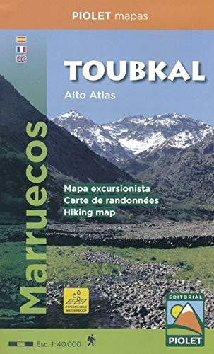 Toubkal. Alto Atlas Marruecos. 1: 40.000