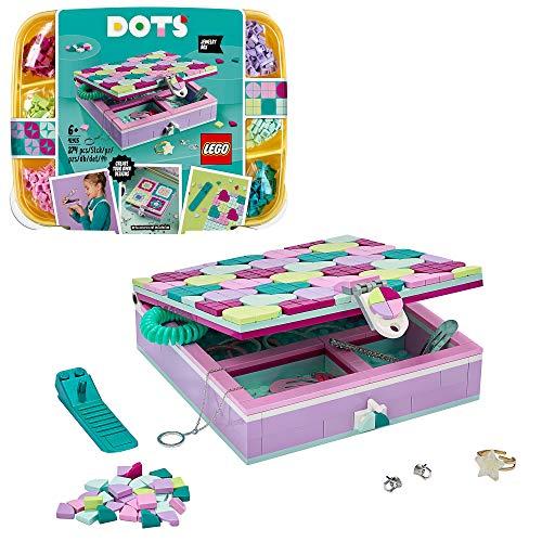 LEGO 41915 DOTS Schmuckbox Set, Kinderzimmer-Deko und Schreibtischzubehör