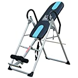HOMCOM Gravity Inversion Table Foldable Therapy Bench Home Fitness Upside Down Stretching Home