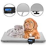 Precisa 300 kg (660 LB) Báscula Digital para Mascotas Báscula Veterinaria para Mascotas Grande 43.3