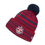 Red Bull Salzburg New Era Bobble Hat, Unisex One Size - Original Merchandise