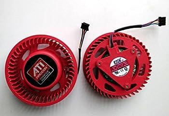 LRHKF New ATI HD 4870 5970 5870 5850 4890 5450 5650 4350 Video Card fan Replacement 75mm