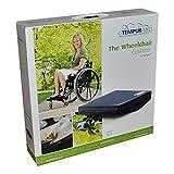 TEMPUR® Rollstuhlkissen gewölbt, Größe:43 x 43 x 9/5 Jersey -