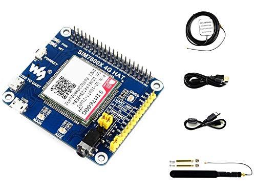 4G/3G/2G/GSM/GPRS/GNSS HAT モジュール Raspberry Pi /4B/3B+3B/2B/Zero/Zero W/Zero WH/Jetson Nano用 SIM7600G-H サポート LTE CAT4 最大150Mbps ダウンリンクデータ転送 グローバルバージョン