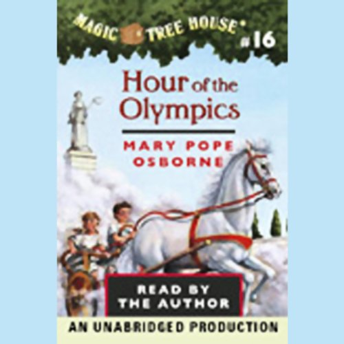 Magic Tree House, Book 16 audiobook cover art