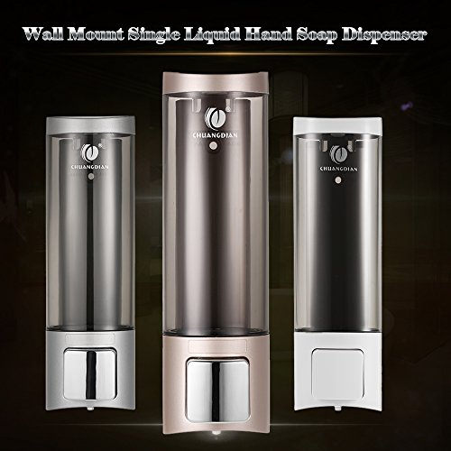 Anself - Dispensador de jabón líquido manual Chuangdian de 200ml -...