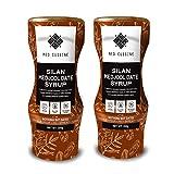 Med Cuisine Silan Date Syrup (350GR X 2) - Jarabe De Dátiles 100% Puro Y Natural Sin Azúcar - Jarabe De Café Vegano Suitable Para Paleo y Keto - Sin OGM y Gluten