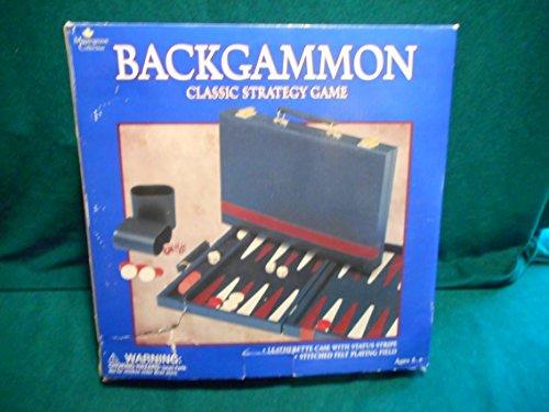 Cardinal Industries Collector's Backgammon Set