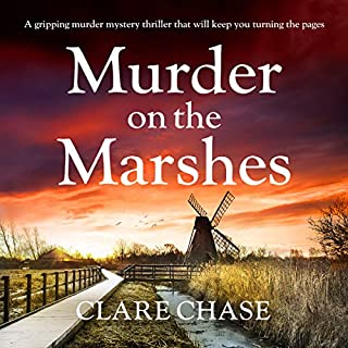 Murder on the Marshes audiobook cover art