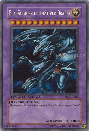 Blauäugiger ultimativer Drache YuGiOh Einzelkarte