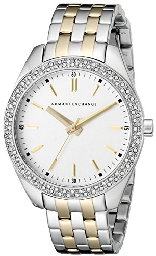 Armani Exchange Women's AX5519 Two-Tone Stainless Steel Watch
