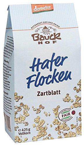 Bauckhof Bio Bauck Demeter Haferflocken Zartblatt (8 x 425 gr)