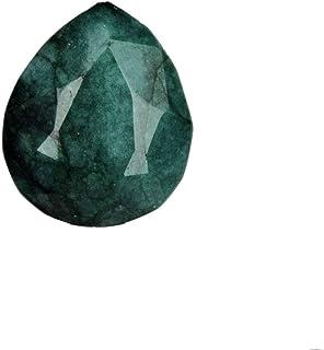 Egl Certificado verde Esmeralda Gem 20.50 Ct Egl Certificado verde Esmeralda, Pear Cut verde Esmeralda Piedra preciosa sue...