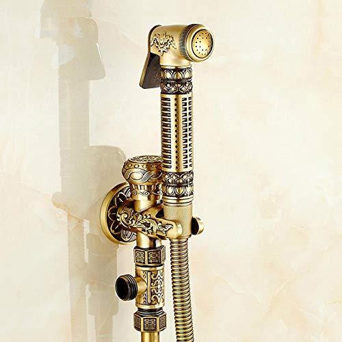 バスルームシャワーお尻ビデスキージ真鍮蛇口システム洗浄タップテールアナルノズル壁ハンドヘルド衛生アナルシャワー