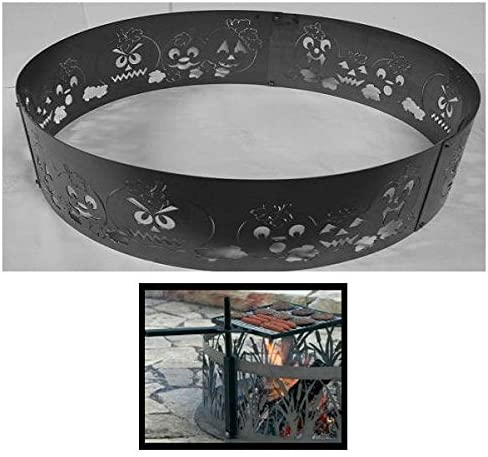 PD Bargain Metals Steel Campfire Fire Ring New Shipping Free Shipping - Harvest Autumn Unpai Design