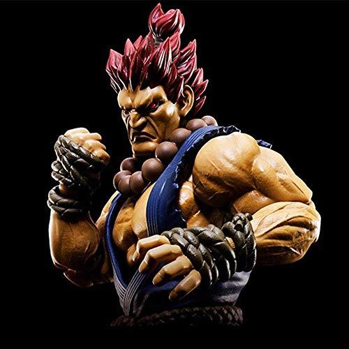 XXSDDM-WJ Regalo Figura de acción de Street Fighter 16CM Estatua de Akuma Gôki, Adornos Animados, Decoraciones, Modelo de marioneta, Recuerdo, Manualidades, Juguetes, Regalo, Gouki-Gouki RD7