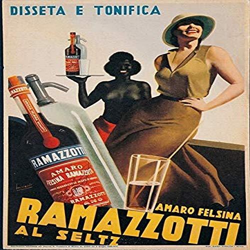 Posterazzi Advertising Amaro Felsina Ramazzotti Poster Print, (18 x 24)