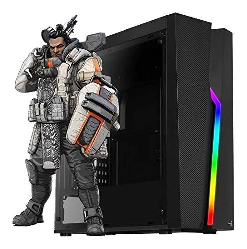 Computador gamer amd ryzen 5 2400g 3.6ghz mem. 8gb ssd 240gb gtx 750ti 2gb fonte 500w linux - mvx5a320s2408750