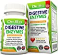 Digestive Enzymes - Enzyme Supplements for Digestion with Lipase Amylase Bromelain and Prebiotics - Daily Gut Health Proteolytic Supplement Pills for Gas Bloating IBS Relief and Digest Gluten